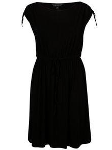 Rochie neagra cu talie elastica Dorothy Perkins Curve