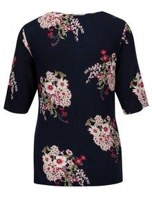 Bluza bleumarin cu print floral pentru femei insarcinate - Dorothy Perkins Maternity