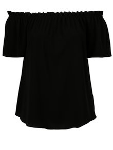 Bluza neagra cu umeri expusi Dorothy Perkins Curve
