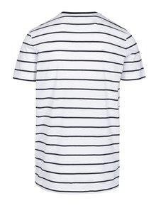 Černo-bílé pruhované tričko Selected Homme Max