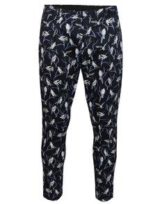 Pantaloni chino bleumarin cu imprimeu - Jack & Jones Ace