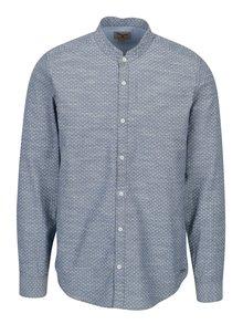 Camasa albastra cu print pentru barbati - Garcia Jeans Heren