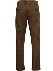 Pantaloni chino kaki slim fit pentru barbati - Garcia Jeans Savio