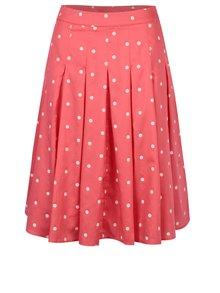 Ružová bodkovaná sukňa Tom Joule Vivien