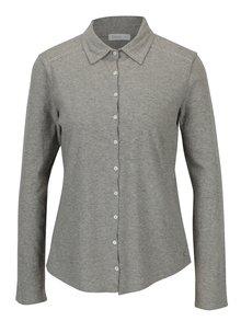 Sivá melírovaná košeľa Yerse