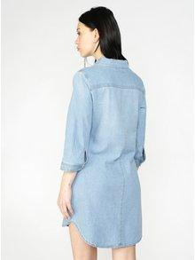Modré košeľové šaty Haily's Frieda