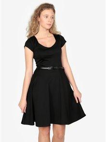 Černé šaty s páskem ZOOT