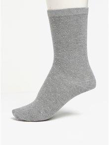 Sada tří párů ponožek v šedé a krémové barvě Oasis Sparkle