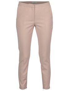 Pantaloni roz dechis cu fermoare pe tivul de jos - Selected Femme Muse