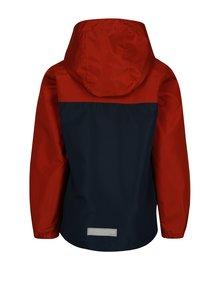 Oranžovo-modrá chlapčenská bunda s kapucňou name it Mads