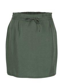 Fusta scurta verde cu snur in talie - Noisy May Haylie