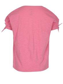Ružové dievčenské tričko s potlačou name it Veet