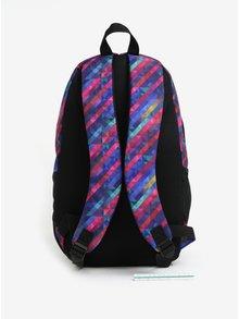 Rucsac urban multicolor cu print geometric LOAP Reny 20 l