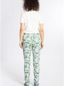 Zeleno-modré vzorované kalhoty Blutsgeschwister