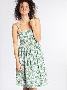 Zeleno-modré vzorované šaty Blutsgeschwister