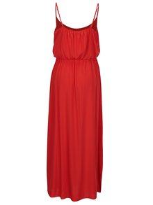 Rochie maxi rosie cu bretele ajustabile - ONLY Nova