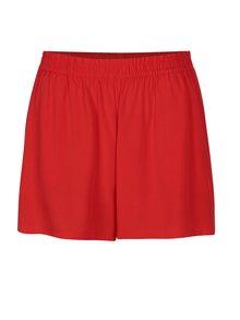 Pantaloni scurti rosii cu buzunare - ONLY Nova