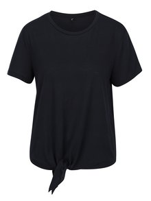 Tricou bleumarin cu nod decorativ - ONLY Uma