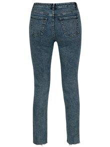 Modré zkrácené slim mom džíny TALLY WEiJL