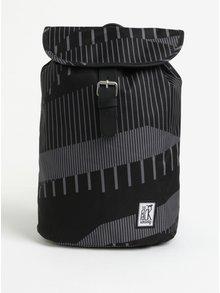 Šedo-černý batoh s potiskem The Pack Society 10 l