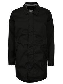 Čierna pánska vodovzdorná bunda s vreckami Makia Mac