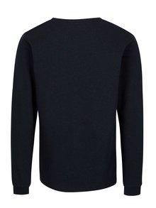 Bluza bleumarin cu print pentru barbati - Makia Aweight