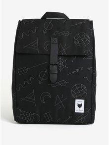 Rucsac negru cu buzunar pentru laptop - The Pack Society