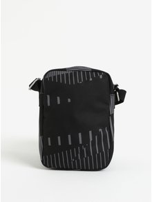 Geanta crossbody negru&gri cu print - The Pack Society