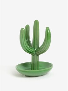 Zelený stojan na šperky v tvare kaktusu SIFCON