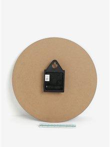 Ceas negru cu aspect vintage SIFCON