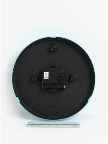 Fialovo-modré detské nástenné hodiny s motívom lamy SIFCON
