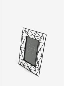 Čierny kovový stolový rámik na fotku SIFCON