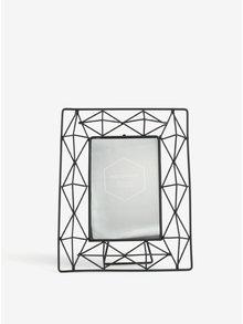 Černý kovový stolní fotorámeček SIFCON