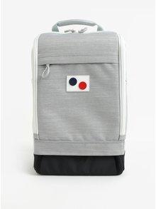 Sivý vodovzdorný batoh z recyklovaného materiálu pinqponq Cubik medium 19 l