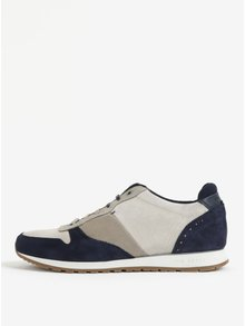 Pantofi sport din piele intoarsa gri & bleumarin pentru barbati - Ted Baker Shindls
