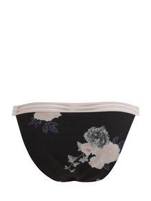 Chiloti negri cu talie inalta si print floral  Y.A.S Hunter