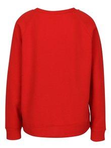 Bluza rosie cu aplicatie din margele ONLY Millie