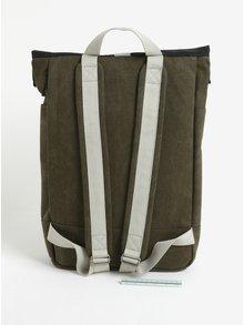 Khaki voděodolný batoh z recyklovaného materiálu Ucon Hajo 20 l