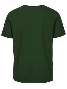 Tricou tailored fit verde cu logo brodat - Barbour Sports Tee