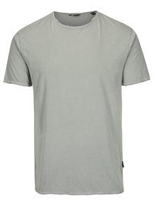 Světle šedé basic tričko ONLY & SONS Albert