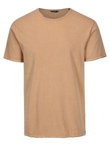 Béžové basic tričko ONLY & SONS Albert