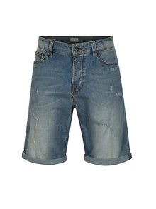 Pantaloni scurti din denim regular fit ONLY & SONS Ply