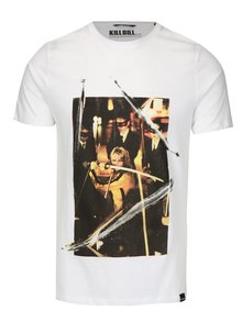 Tricou alb cu print - ONLY & SONS Kill Bill