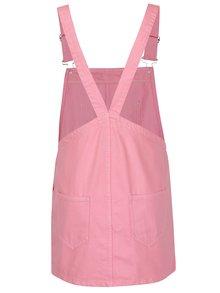 Rochie sarafan roz din denim - ONLY Francesis