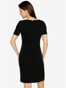Černé šaty s volánem VERO MODA Snack