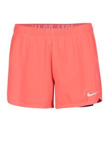 Čierno–ružové kraťasy Nike
