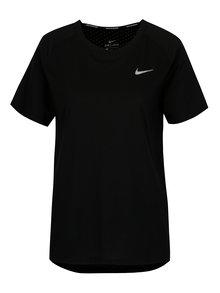 Čierne dámske funkčné tričko Nike Tailwind