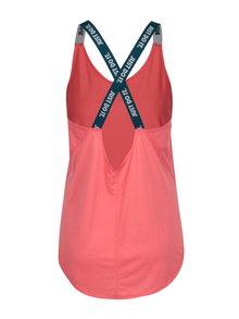 Top sport roz cu bretele incrucisate pentru femei -  Nike Dry Tank Elastka