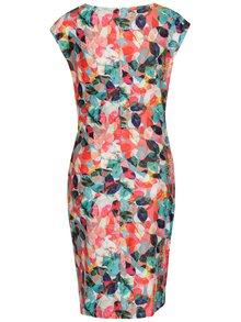 Farebné puzdrové vzorované šaty Smashed Lemon