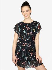 Čierne kvetované šaty  Haily's Anne